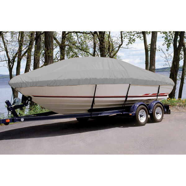Ultima Solution Dyed Polyester Boat Cover For Glastron 205 Gx Ski - Fish