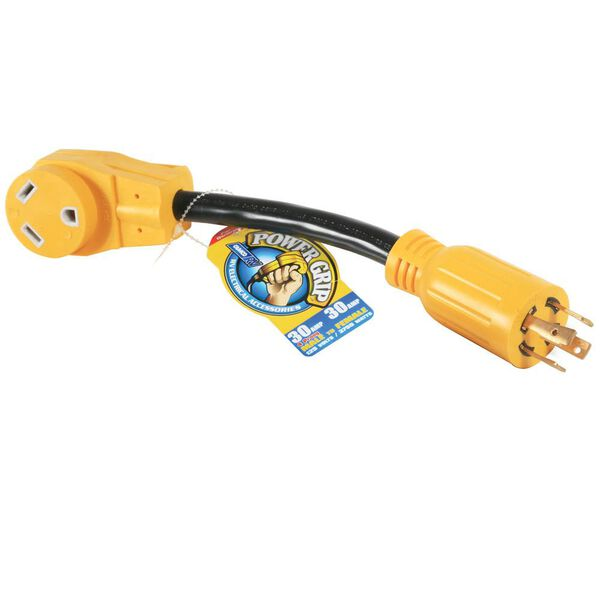 Camco Power Grip Generator Adapter, 30A