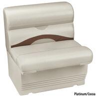 "Toonmate Premium Pontoon 27"" Wide Lounge Seat w/Platinum Base"