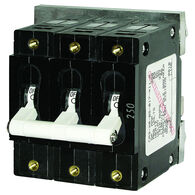 Blue Sea AC Circuit Breaker C-Series Toggle Switch, Triple Pole, 50A