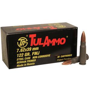 TulAmmo Rifle Ammunition, 7.62x39mm, 122-gr., FMJ