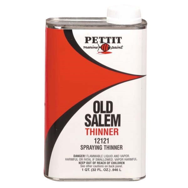 Pettit 121 Spraying Thinner, Quart