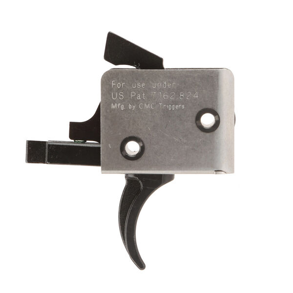 CMC Triggers AR-15/AR-10 Curved Single-Stage Self-Contained Trigger