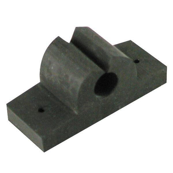"""Rubber Rod/Tool Holder, black 3/8"""""""