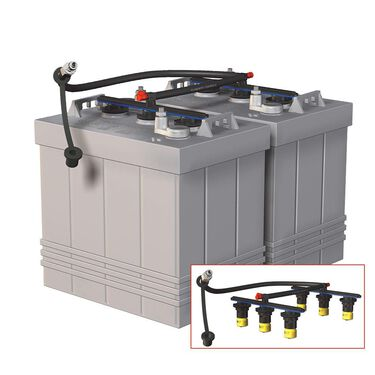Pro-Fill RV Edition Dual 6-Volt Battery Watering System