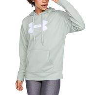 Women's Under Armour Synthetic Fleece Chenille Logo Hoodie