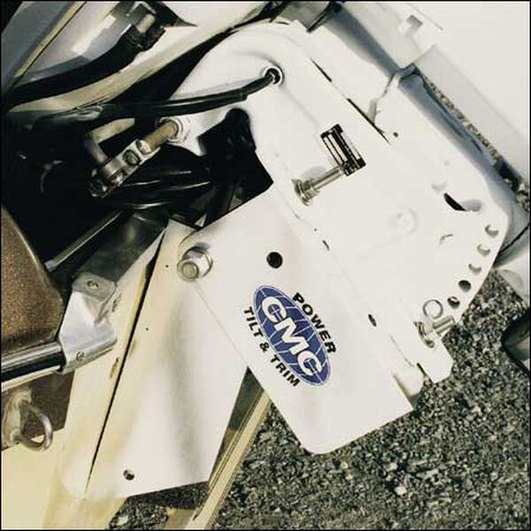 CMC PT-130 Electric Hydraulic Tilt and Trim With Trim Gauge, For Up To 130 HP