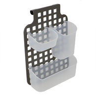Home Basics Over-the-Cabinet Organizer with Plastic Perforated Frame