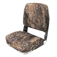 Wise Camo Low-Back Fishing Chair