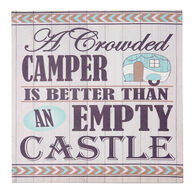 """A Crowded Camper"" Canvas Wall Art"