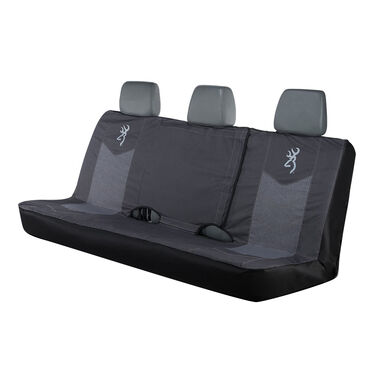 Browning Full-Size Bench Seat Cover, Heather Black
