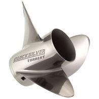 Quicksilver Torrent 3-Blade Modular Prop / Stainless 14.625 dia x 23 pitch RH