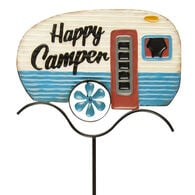 Happy Camper RV Spinner with Yard Stake
