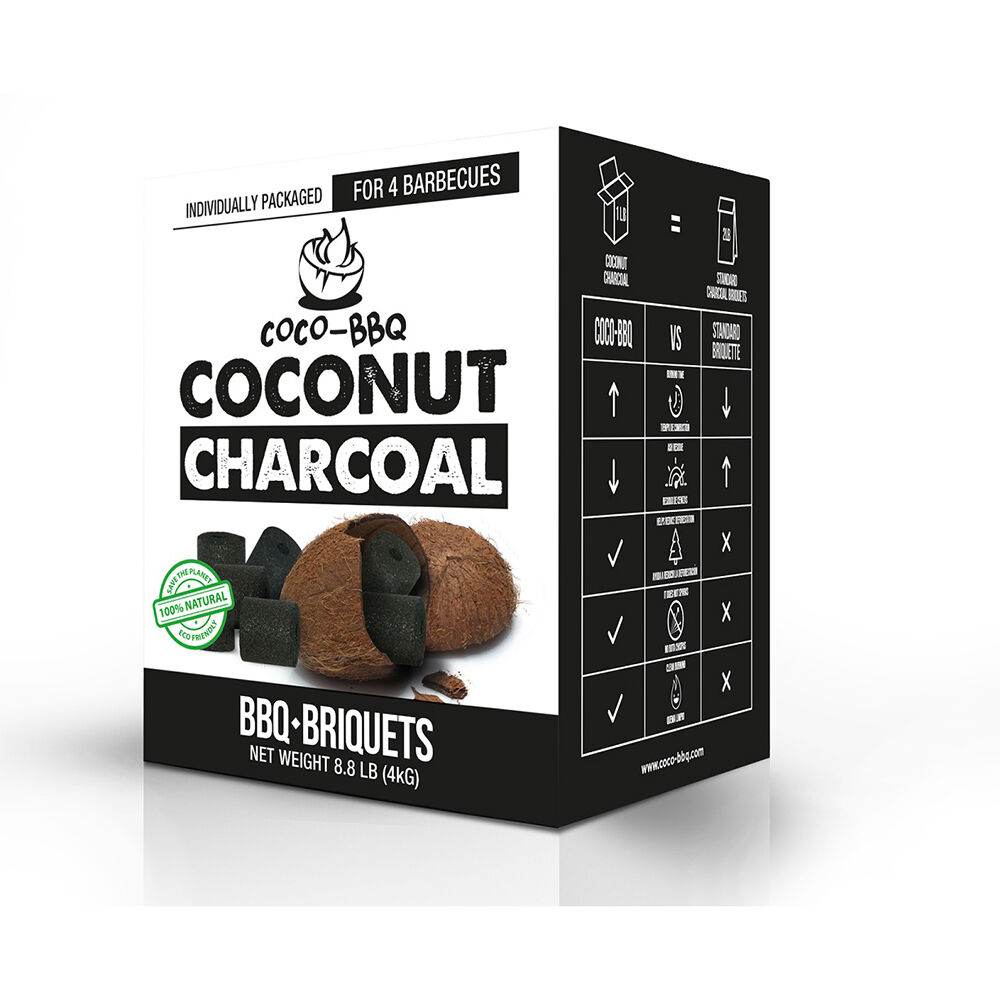COCO- BBQ Coconut Shell Charcoal