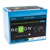 RELiON RB75 12V 75Ah LiFePO4 Battery