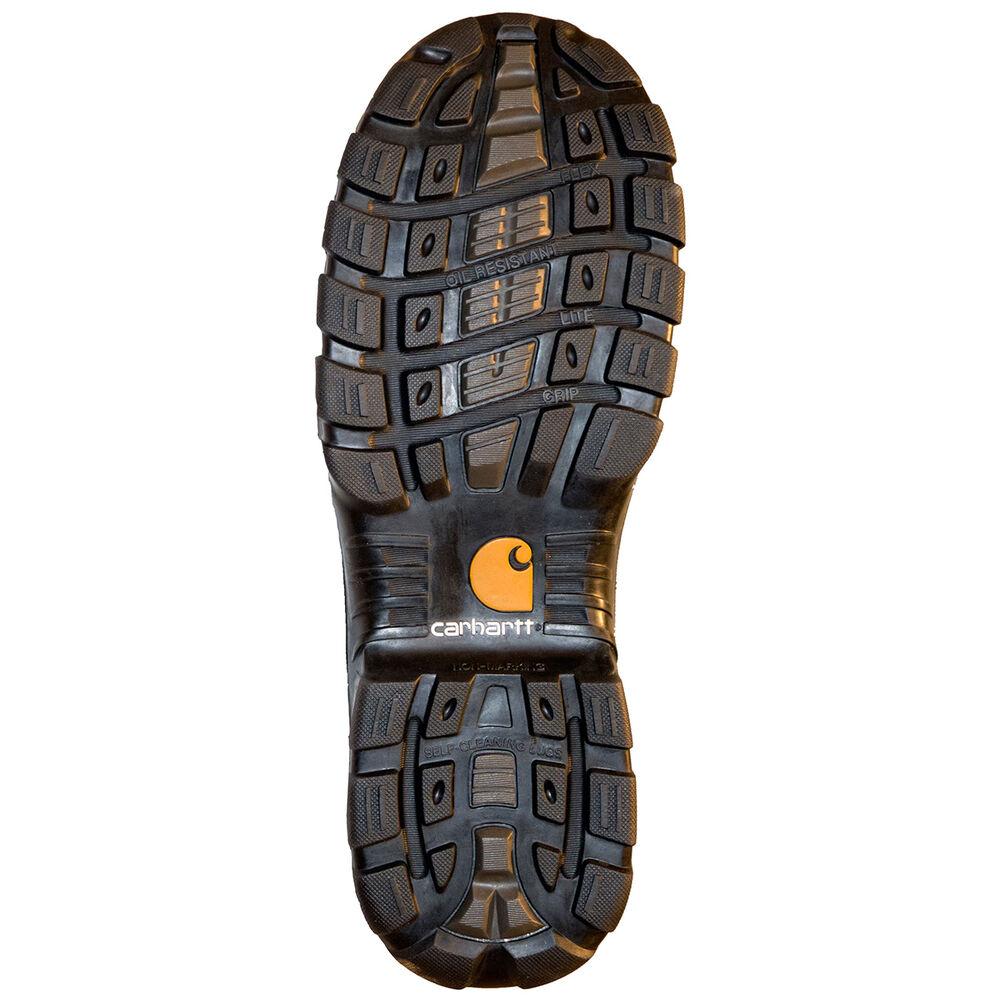 3d4cbb3c023 Carhartt Men's Waterproof Oxford Romeo Black Leather Slip-On Work Boot