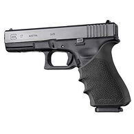 Hogue Glock 17 Gen 3/4 HandAll Beavertail Grip Sleeve, Black