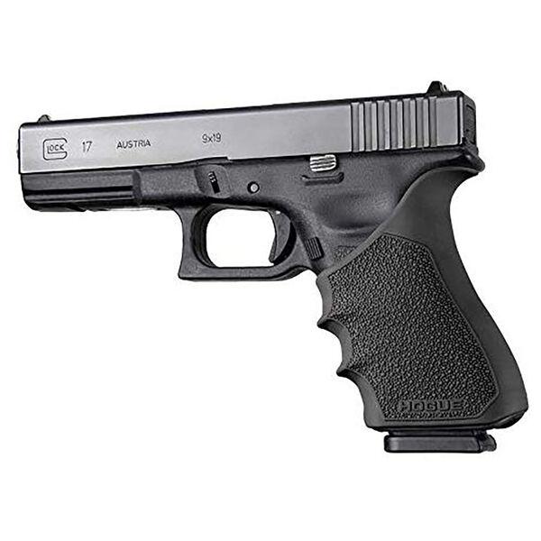 Hogue Glock 17 Gen 3/4 HandAll Beavertail Grip Sleeve, Black