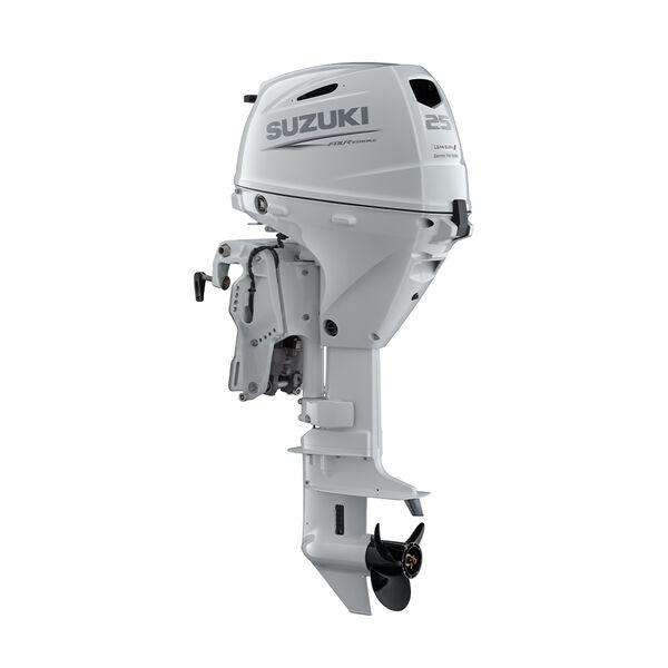 Suzuki 25 HP Outboard Motor, Model DF25ATSW3