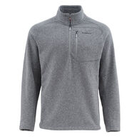 Simms Men's Rivershed Quarter Zip Fleece Sweater