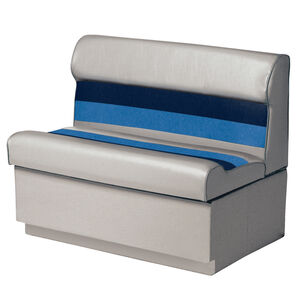 """Toonmate Deluxe 36"""" Lounge Seat - TOP ONLY - Gray/Navy/Blue"""