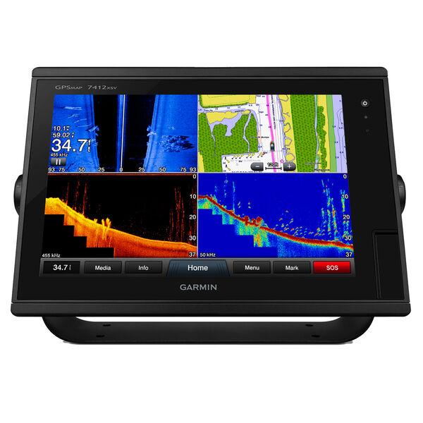 Garmin GPSMAP 7412xsv Chartplotter/Fishfinder Combo