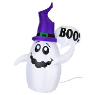 Inflatable 4' Halloween Ghost