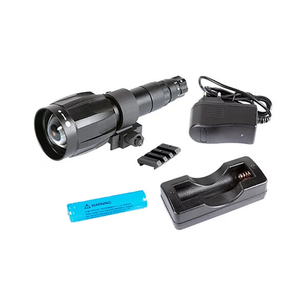 IR850-XLR LED Infrared Illuminator with Dovetail to Weaver Transfer Piece #21