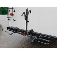 Two Bike Carrier with Bumper Accessory Hitch