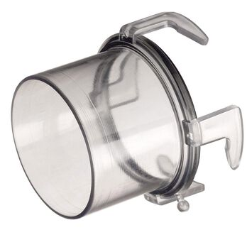 "Blueline Clear Hose Adapter, 2 1/4""L"