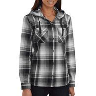 Carhartt Beartooth Hooded Flannel Shirt