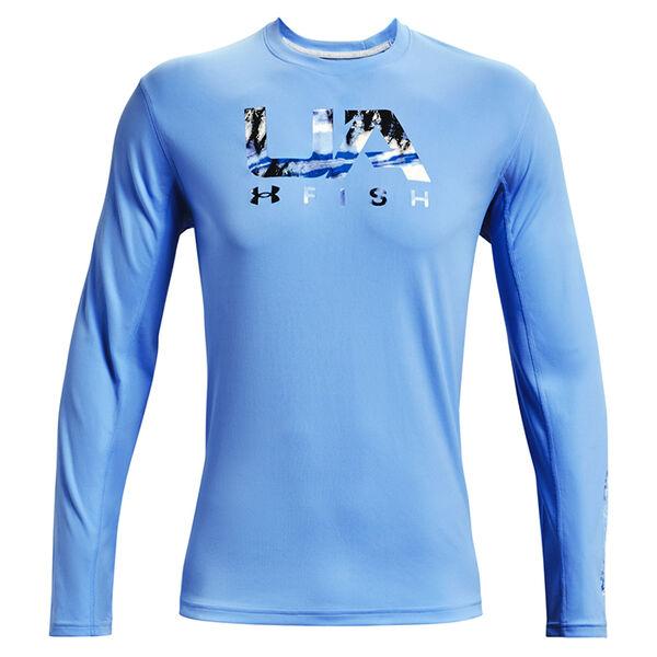 Under Armour Men's Iso-Chill Shorebreak Fill Long-Sleeve Shirt
