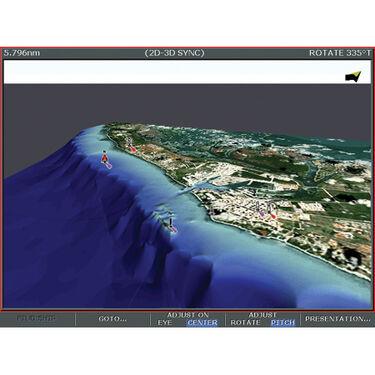 Navionics Platinum+ Map, Central Gulf Of Mexico ½ CF Cartridge