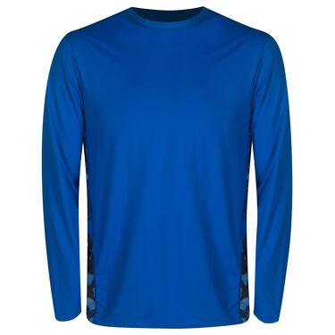 Overton's Men's Long-Sleeve Loose Fit Lycra Shirt