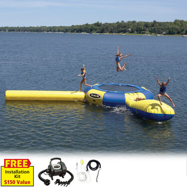 RAVE 15' Aqua Jump Eclipse 150 Water Park, Standard Edition