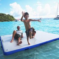 "Overton's Inflatable Floating Dock, 10' x 8' x 6"""