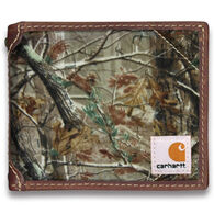Carhartt Men's Realtree Camo Canvas Passcase Wallet