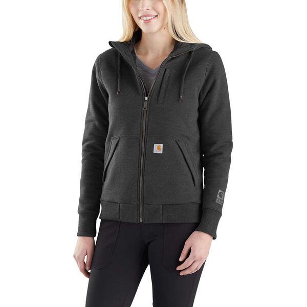 Carhartt Women's Rain Defender Rockland Quilt-Lined Full-Zip Hoodie