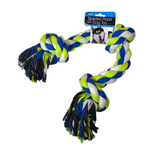 Braided Rope Dog Pull Toy