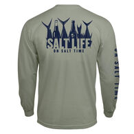 Salt Life Men's 5 O'Clock Somewhere Pocket Long-Sleeve Tee