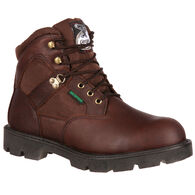 "Georgia Boots Men's Homeland Waterproof 6"" Steel-Toe Work Boot"