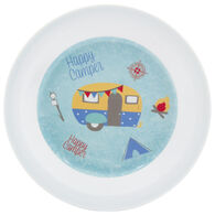 Happy Camper Melamine Pasta Bowl