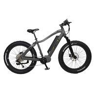 "QuietKat Apex 1000-Watt Electric Mountain Bike 17"", Charcoal"