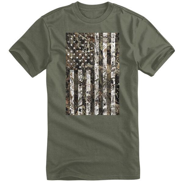 Field Duty Men's Camo Flag Short-Sleeve Tee