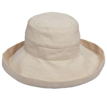 7ad8dc97 Dorfman Pacific Scala Collezione Women's Cotton Sun Hat - 3