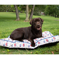 Happy Camping Dog Bed, Large