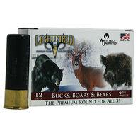Lightfield Bucks, Bears & Boars Slugs, 12-ga., 2-3/4″, 1 oz., Sabot