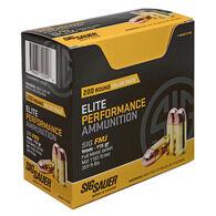 Sig Sauer Elite Performance 9MM FMJ Ammunition (200 CT)