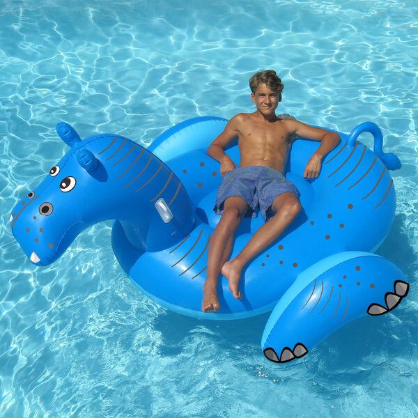Swimline Giant Hippo Ride-On Float
