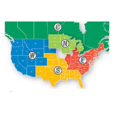 Navionics Platinum HotMaps, West United States ½ CF Cartridge